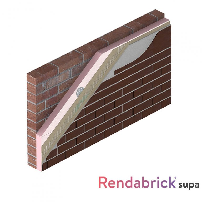 brick effect render - rendabrick