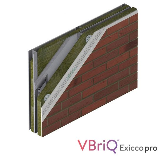 vbriq exicco pro mineral wool ewi system