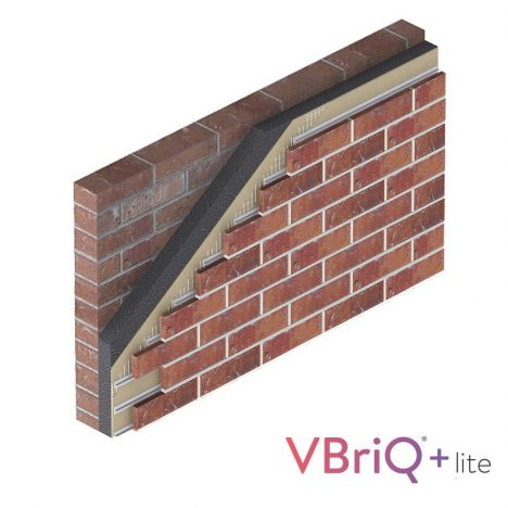 clay brick slip system