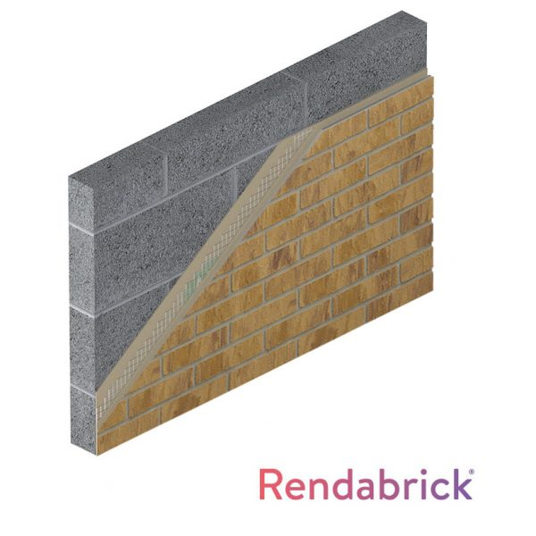 buff brick-effect render